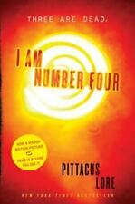 Pittacus Lore~I AM NUMBER FOUR~TRUE 1ST/DJ~NICE COPY
