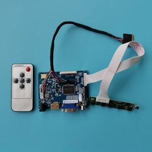 For N156B6 L 1366X768 Panel Screen HDMI VGA 2AV LCD LED Controller Board kit DIY