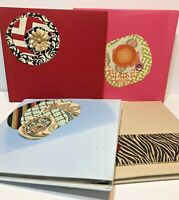 Lot of 4 Scrapbooking Photo Albums Each with Themed Sheets Ready for Photos