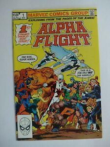Alpha Flight #1 High Grade John Byrne Free Shipping