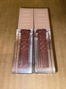 2 Pack Maybelline Lifter Gloss Lip Gloss with Hyaluronic Acid, Silk 004 Sealed