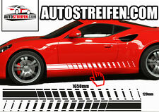 2x Sport EVO Seitenstreifen PAAR Aufkleber Streifen Dekorstreifen Dekorset Auto