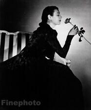 1940 Fidelma Cadmus Kirstein Artist Painter By George Platt Lynes Vintage Photo