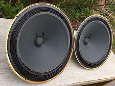 """SWEET Pair (2) 1975 UTAH 12"""" V12LP2 Alnico Speakers ~ 8 ohms"""