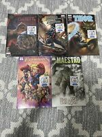 5 Walmart Exclusive 3 pack Variant HOT NEW  Marvel Comics KING IN BLACK THOR
