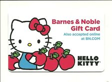 Barnes & Noble Hello Kitty Gift Card No $ Value Collectible