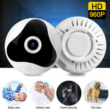 Panoramic Wireless Fisheye Mini Wifi Camera 360 Degree Two Way Audio IP Cam 960P