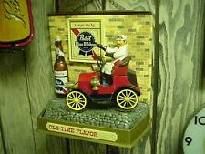 Pabst Blue Ribbon Beer Old Time Car display piece Vintage NICE