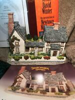 Newtown Millhouse David Winter Pack With Booklet Vhs And Coa Signed Perfect Lmtd