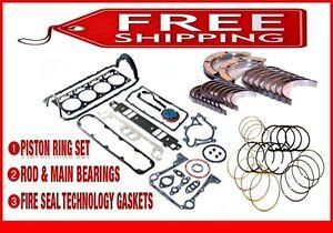 "*Engine Re-Ring ReMain Kit* 1996 Pontiac Olds GrandPrix Cutlass 3.4L DOHC V6 ""X"""