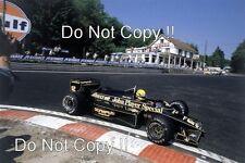 Ayrton Senna JPS Lotus 97 T WINNER BELGIAN GRAND PRIX 1985 Photo 3