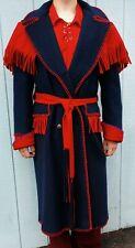 Pendleton Wool Mountain Man, Capote Blanket Style CoatRendezvous Black powder