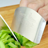 Stainless Steel Kitchen Protector You Finger Hand Cut Vegetable Safety Tool Q
