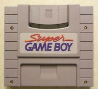 SNES Super GameBoy Super Nintendo Adapter Game Boy