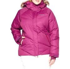 Womens size 1X Columbia Lay D down ski winter jacket omni heat insulated