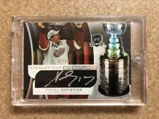 2008-09 UD The Cup Pavel Datsyuk Stanley Cup Signatures Autograph /50