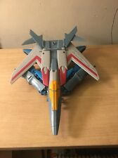 Transformers Robots In Disguise 9 Inch Action Figure Power Surge Starscream Used