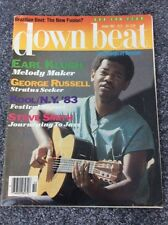Downbeat Oct 1983 Earl Kugh, George Russell, Steve Smith