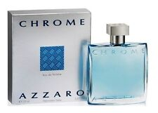 Chrome Azzaro Men 3.3 3.4 oz 100 ml *Eau De Toilette* Spray Nib Sealed