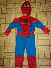 Disney Store Muscle Spiderman Halloween Costume. Sz. 3.