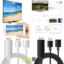 Mini USB MHL To HDMI 1080P TV Adapter Cable For iPhoneX 8 7 Samsung Galaxy S8 S7
