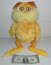 VTG Kohls Cares for Kids THE LORAX Plush Doll Dr Seuss Soft Movie Toy HTF
