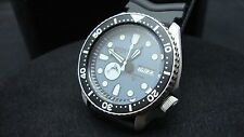 Vintage Seiko divers BLUE GREY 7S26 XX MEGA MOD FLYING MARLIN K45