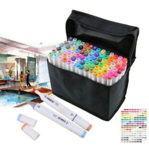 Fashion 30-80Colors Artist Dual Head Sketch Copic Markers Set For Drawing Sketch