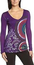 Desigual Purple Pullover Top