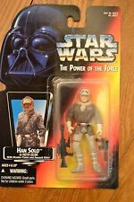 Star Wars Power of the Force POTF Han Solo (Hoth Gear), Red Card, .00, Mint