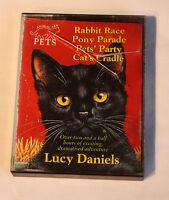 Rabbit Race Pony Parade Pet's Party, Cats cradle -  2  x Cassette Audiobook