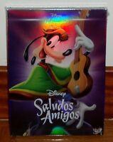 SALUDOS AMIGOS-CLASICO DISNEY Nº 6-DVD-NUEVO-PRECINTADO-SEALED-FUNDA DE CARTON