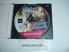 WWE SMACKDOWN VS RAW 2009 wrestling game only in plain case - Playstation 2 PS2