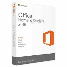 Microsoft Office 2016 Home & Student Vollversion Retail Produktkey 24/7 Versand