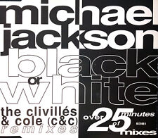 Michael Jackson ‎Maxi CD Black Or White (The Clivillés & Cole (C&C) Remixes)