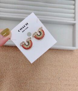 Coach Jewellery Pearl Swarovski Cyrstal Earrings