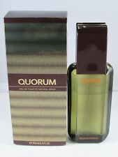 Quorum by Antonio Puig 3.4 oz / 100 ml EDT Cologne for Men New In Box