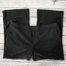 "Mossimo Dress Pants Size 24WS Womens Gray Stretch Wide Leg Short Inseam 29"""