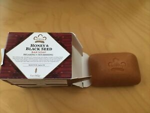 Nubian Heritage Honey - Black Seed Soap 5 oz. (Pack of 2)