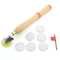 Wood Bowl Sander with Sanding Disc for Lathe Turning Tool Woodworking Polishing