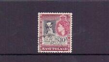 BASUTOLAND 1954 10/- BLACK & MAROON SG53 FINE USED CAT £32