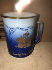 Bing & Grondhal Copenhagen Porcelain Santa Maria 1492 Mug First Edition