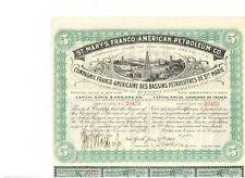 St. Mary's Franco - American Petroleum Co. New York 1902