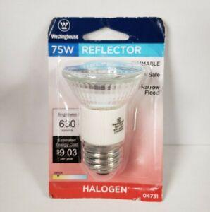 Westinghouse 75W 120V 04731 Dimmable R16 Halogen Narrow Flood Bulb (2B)