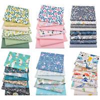 Cotton Craft Fabric DIY Fat Quarter Bundle Quilting Patchwork Floral Printed