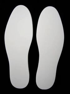 MEMORY FOAM 10mm THICK INNER SOLES SPORTS BOOTS SHOES UK SIZES 3-12 SELF CUT