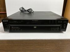 Sony 5 Disc Changer DVD / CD Player DVP-NC600 Tested Works Great - No Remote