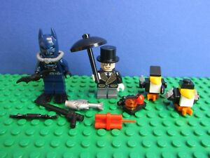 genuine LEGO SCUBA BATMAN PENGUIN SET minifigure DC COMICS super hero 76010 42G