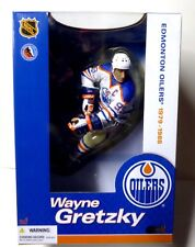 "McFarlane Sports NHL Hockey 12"" Legends Series 1 Gretzky Oilers Action Figure"