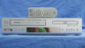 Daewoo SD-7400 VHS DVD Kombigerät mit FB / NEUE RIEMEN # 1 JAHR GARANTIE